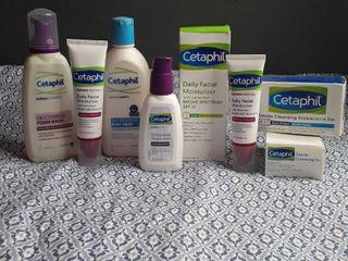 Cetaphil lot of 8 items