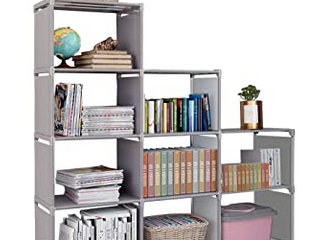 BUIlD YOUR OWN BOOKSHElF  COMPlETE W  PIPES  SIDE ClOTHS  lAYER FABRIC  AND CONNECTORS  10 4 HOlE  7 8 HOlE