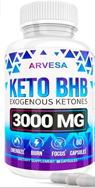 ARVESA KETO BHB EXOGENOUS KETONS  3000 MG  EXPIRES 05 2023
