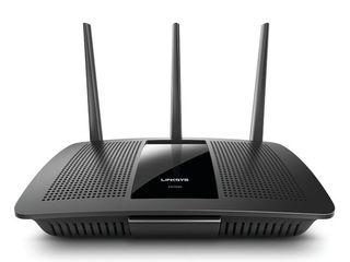 linksys MAX STREAM AC1900 Dual Band MU MIMO Smart Wi Fi Gigabit Router  Qualcomm IPQ 1 4GHz Dual Core Processor  Ideal for 4K TV  EA7500