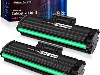 E Z Ink  TM  Compatible Toner Cartridge Replacement for Samsung 111S 111l MlT D111S MlT D111l to Use with Samsung Xpress M2020W M2024W M2070FW M2070W Printer  Black  2 Pack