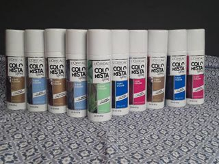 Colorista Spray 1 Day Color   lot of 10 items