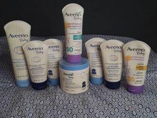 Aveeno Baby   lot of 8 items