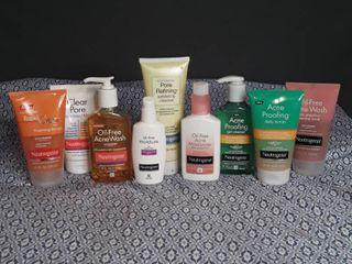 Neutrogena   lot of 9 items