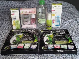 lot of Garnier Face Products   7 items