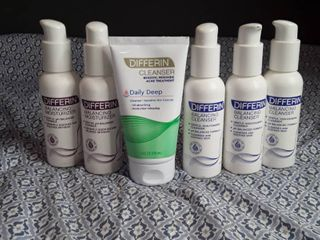 Differin Face Products   lot of 6 items
