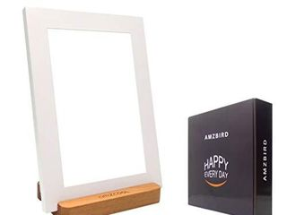 Happy Sunlight Therapy lamp 10000 lux Full Spectrum lED lamp UV Free Portable Natural Health light with Stepless Dimming White A5 Size