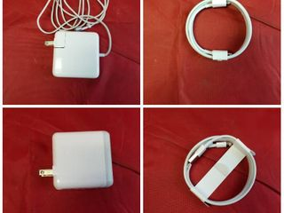 lOT of APPlE AC ADAPTER AND CORDS