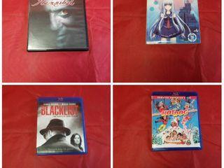 lOT of BlU RAY DVD S