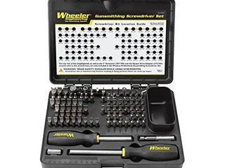 Wheeler Engineering Gunsmithing Screwdriver Set with Durable Construction and Storage Case for Gunsmithing and Maintenance