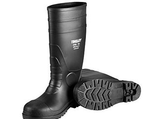 Tingley 31251 12 Pilot 15 in Cleated Steel Toe Knee Boot  Size 12  Black