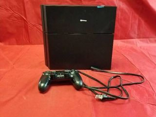 PlayStation 4 1TB Console  Black Parts Only