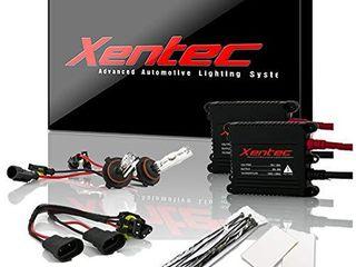 Xentec 9006  HB4  5000K HID xenon bulb x 1 pair bundle with 35W Digital Slim Ballast x 2  Ivory White