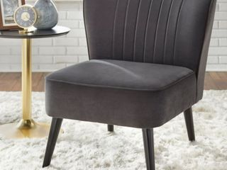 Simple living Selma Channel Back Accent Chair