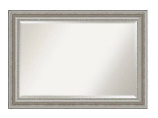 The Gray Barn Parlor Silver Bathroom Vanity Wall Mirror  Retail 143 99