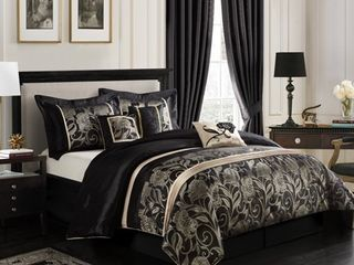Grand Avenue Brie 7 piece Full Comforter Bedding Set