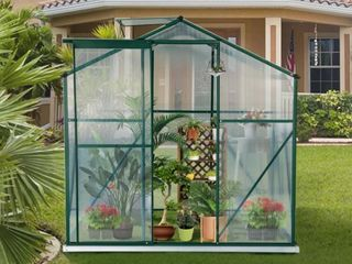 8x6 Greenhouse  Panels Only