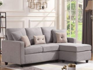 HONBAY Reversible Sectional Sofa  Retail   409 99