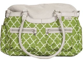 JJ Cole Canvas Satchel Bag   Green Arbor