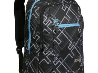 Atom Black Backpack