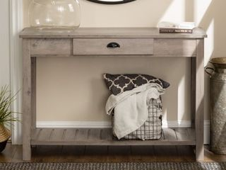 Middlebrook Designs 48 inch Rustic Farmhouse Entry Table  Retail 231 99