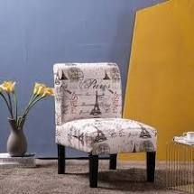 Armrest Fabric Single Sofa leisure Accent Chair  Retail 122 99 beige