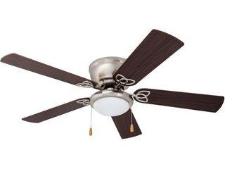52  Benton Hugger lED Ceiling Fan  Brushed Nickel
