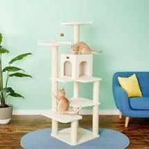 armarkat ivory cat stand