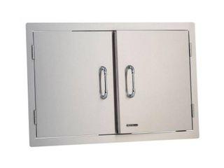 Bull   Double Door  30 in Double walled  includes Paper towel holder