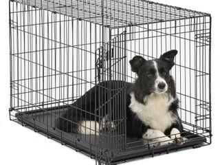 MidWest Single Door iCrate Metal Dog Crate  36 in