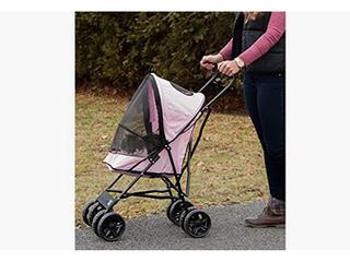 Pet Gear Ultra lite Travel Stroller  Compact  large Wheels  lightweight  38 in Tall