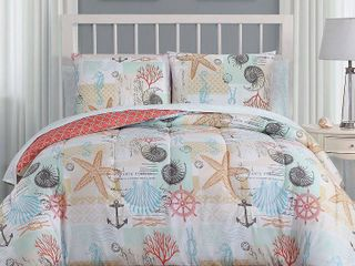 Avondale Manor Belize 8pc Bed in a Bag Set   King