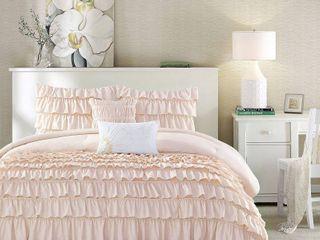 Home Essence Apartment Marley Super Soft Comforter Set pink