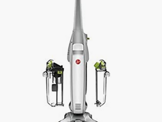 Hoover FloorMate Deluxe Hard Floor Cleaner Machine  Wet Dry Vacuum  FH40160PC  Silver