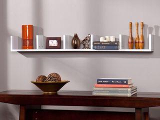Southern Enterprises Seaside Display Shelf in White
