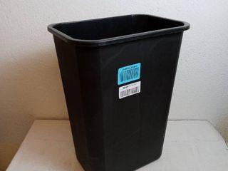 black 20 in trash bin