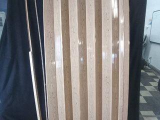Oakmont Vinyl Oak Accordion Door  43 in x 78in