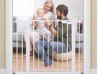 Cumbor Auto Close Safety Baby Gate