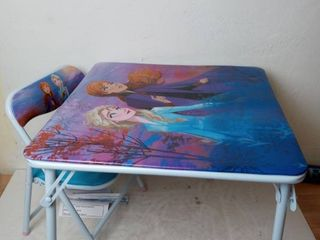 Disney Frozen 2 Kids Table   Chair Set  Junior Table For Toddlers Ages 2 5 Years