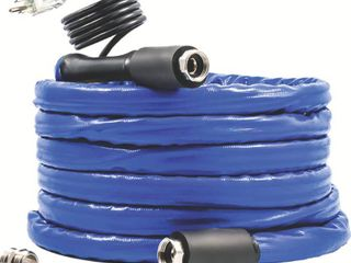 Camco 22912 50  Taste Pure Heated Drinking Water Hose with Thermostat   lead Free