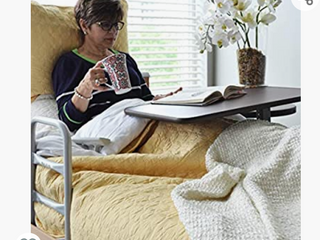 Invacare Overbed Table  with Auto Touch Height