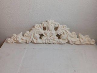 plaster mold medallion