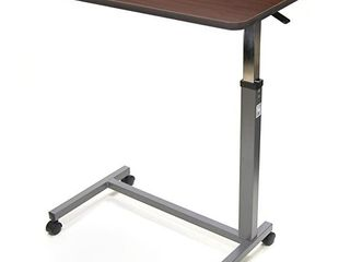 Invacare Overbed Table  with Auto Touch Height Adjustment