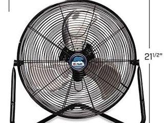 B Air FIRTANA 20X High Velocity Electric Industrial and Home Floor Fan  20