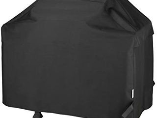 Unicook Heavy Duty Waterproof Barbecue Gas Grill Cover  55 inch BBQ Cover  Special Fade and UV Resistant Material  Durable and Convenient  Fits Weber Char Broil Nexgrill Brinkmann Grills and More