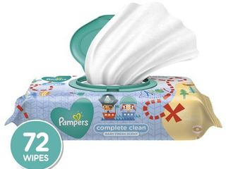 Pampers Wipes Complete Clean  72ct  pack of 2
