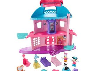 Fisher Price Disney Minnie Mouse Home Sweet Headquarters Playse