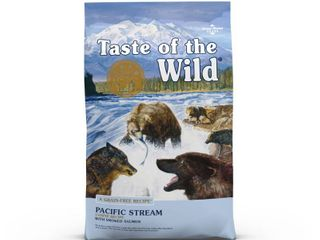 Taste of the Wild Grain Free Smoked Salmon Pacific Stream Dry Dog Food  14 lb  Best by Date 12 16 2020