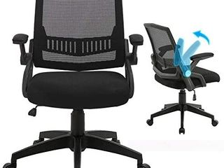 Office Chairs  Mid Back Computer Desk Chairs with Ergonomic Back  Swivel Task Chairs with Thick Cushion  Upgraded Huge Cushion Foam  load up to 300lbs