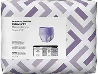 Solimo Incontinence Underwear Women Maximum Absorbency large 18 Count